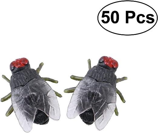 MEIDI Home 50 Piezas de plástico Blowfly Broma Broma Gadgets ...