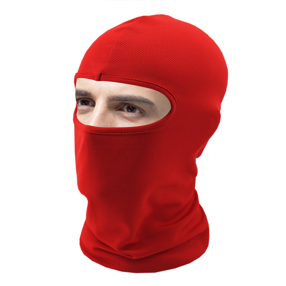 AUTULET Breath Absorb Sweat Summer Thin Face Mask for Running Cycling Fishing Neck Scarf Sunscreen Hat
