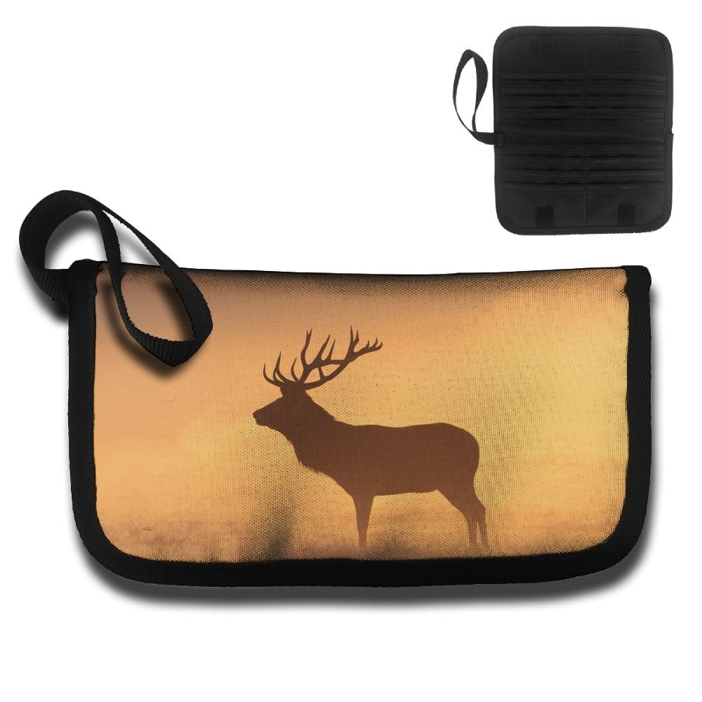 Gili Dim Deer Travel Passport /& Document Organizer Zipper Case