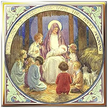 Religious Christmas Cards Uk.Luxury Art Christmas Cards Med Xmbl 0012 Religious Scenes By Margaret Tarrant Box Of 16 Cards