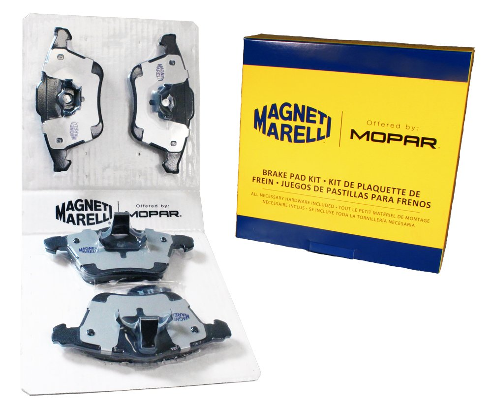Magneti Marelli by Mopar 1AMV10915B Disc Brake Pad Set