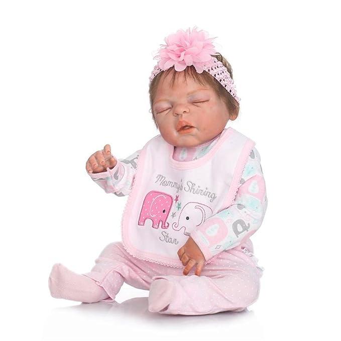 Amazon.com: NPKDOLL - Muñeca de silicona para bebé, 22.0 in ...