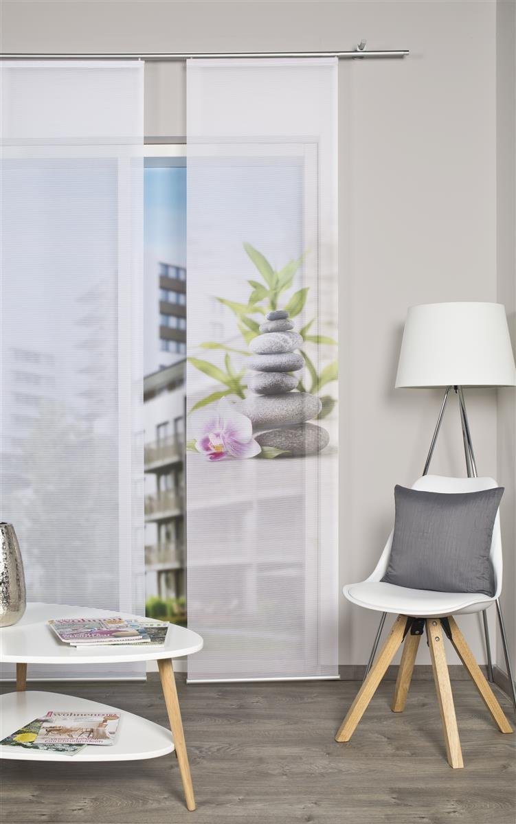effetto bamb/ù malda 260/x 60/cm Natura Home Living idee tenda a pannello con stampa digitale