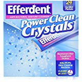 Efferdent Power Clean Crystals, 24 Count