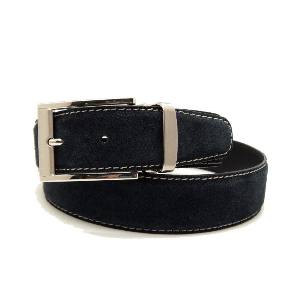 VAELLO - Cinturó n ajustable de serraje. 34 mm, para hombre
