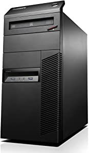 LenovoFlagship ThinkCentre M93P High Performance Premium Tower Desktop Computer (Intel Quad Core i5-4570 up to 3.6GHz, 8GB RAM, 128GB SSD + 3TB HDD, DVD, WIFI, Windows 10 Pro) (Renewed)