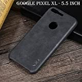 Techstudio™ Genuine Leather Back Cover Back Case With Inner Cushion For Google Pixel XL - 5.5' Inch