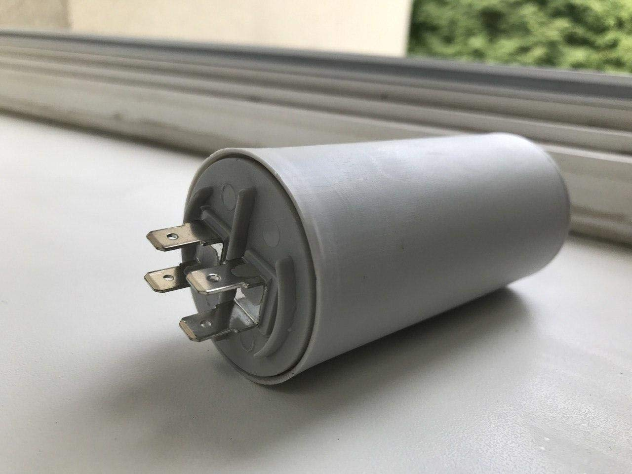 40 mF//Microfarad Universel Ducati energia Condensateur Blanc moteur Capacitor 425//475 V