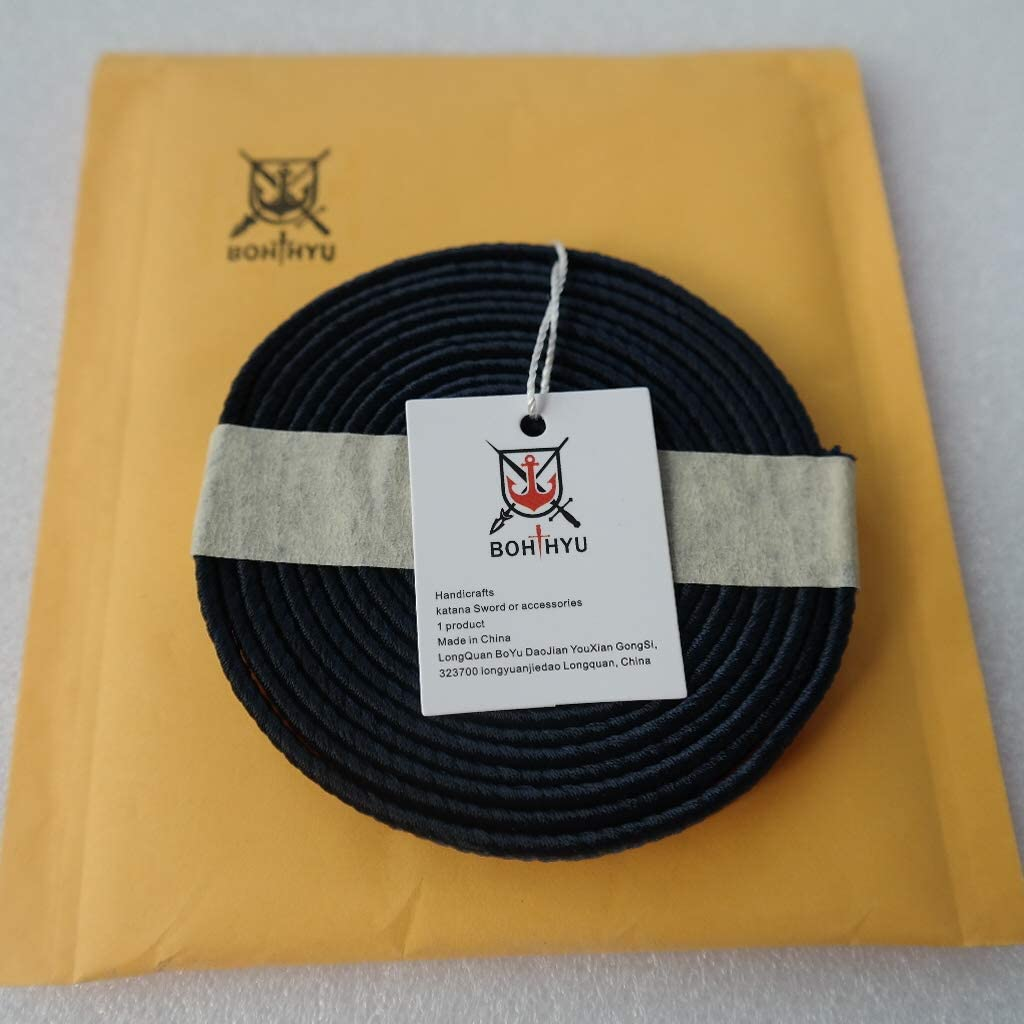 Boyu Rich in Color Synthetic Silk Sageo Wrapping Cord for Swords