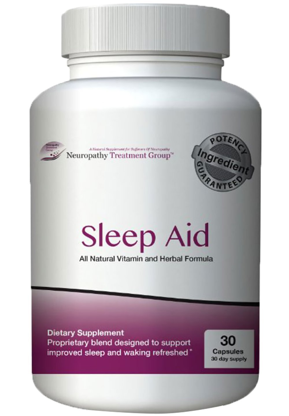All-Natural Nerve Renew Sleep Aid- Works Fast - No Grogginess and Non-Habit Forming- Alternative Sleep Aid Supplement - 30 Day Supply