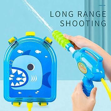 🚀🚀Divertido Juguete de Mochila Pistola de Agua con Tipo de tracción para niños jugue