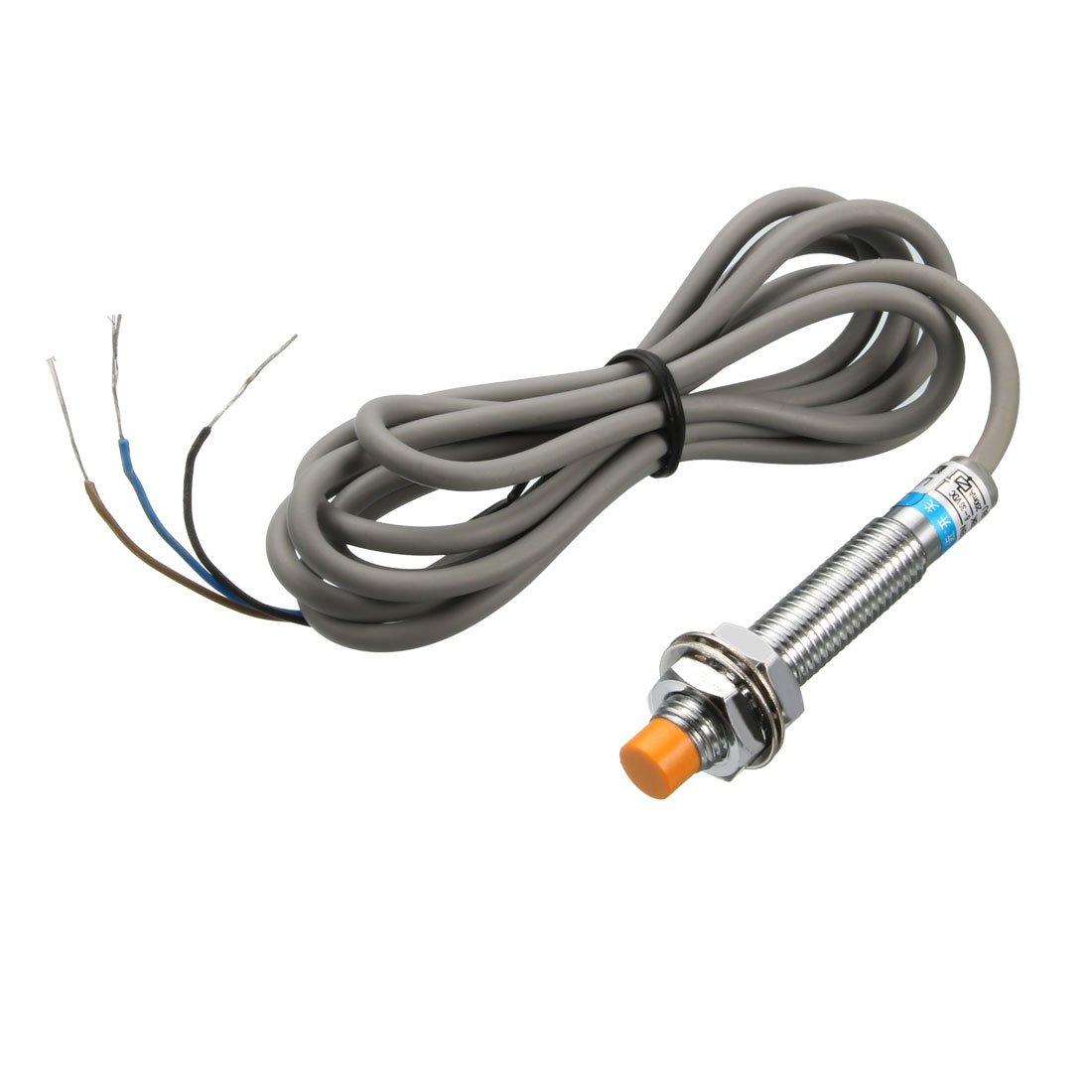 PR08-2DP 2mm Detection Inductive Proximity Sensor Switch PNP NO DC 12-24V