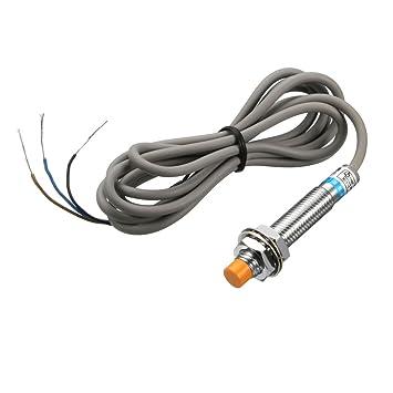 uxcell - Detector de sensor de proximidad inductivo 2 mm PNP NO DC 6-36 V 200 mA3-wire LJ8A3-2-Z/BY: Amazon.es: Bricolaje y herramientas