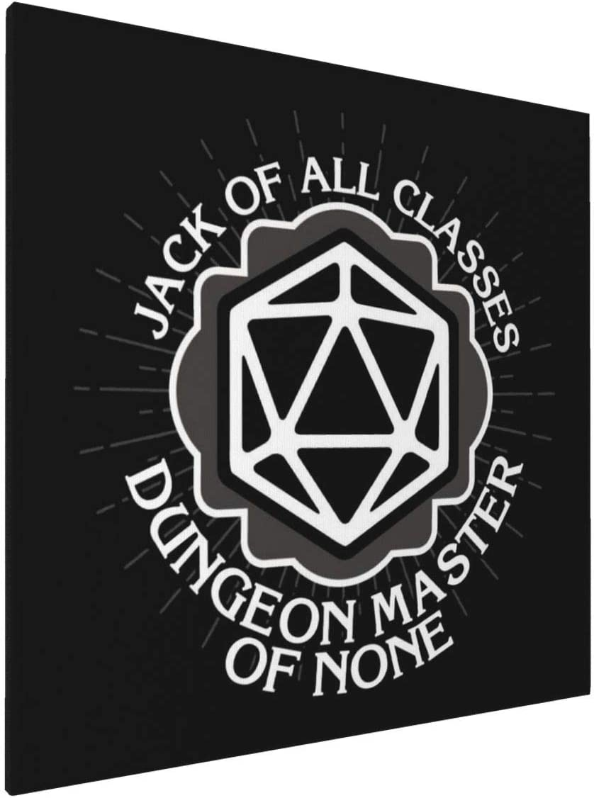 1007 Canvas Prints Wall Art Paintings(20x20in) Dungeon Master of None Pictures Home Office Decor Framed Posters & Prints