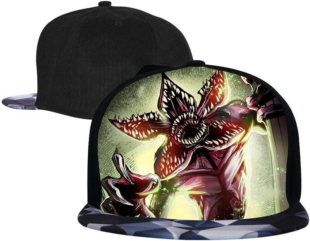 BEKAI Unisex Demogorgon Adjustable Brimbill Flats Hat for Mens//Womens Hip Hop Caps