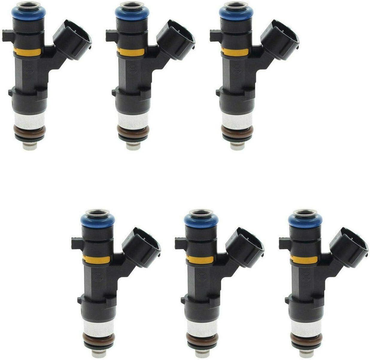 Genuine 6X Fuel Injector 16600-CD700 For Nissan Infiniti FX35 M35 G35 V6 3.5L US