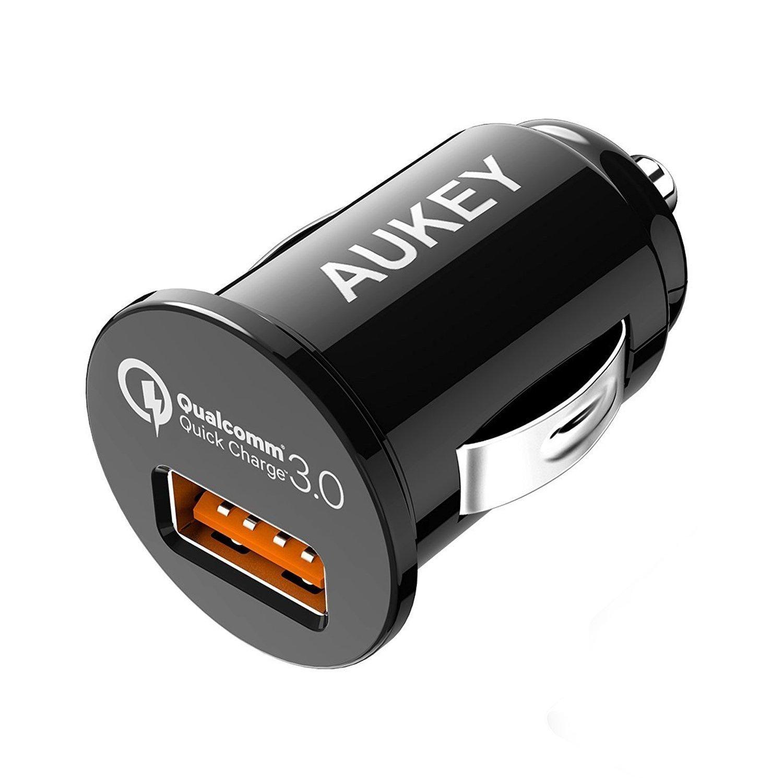 AUKEY Quick Charge 3.0 Caricabatteria da Auto