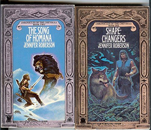 Chronicles of the Cheysuli - Books 1 - 8! Shapechangers, The Song of Homana, Legacy of the Sword, Track of the White Wolf, A Pride of Princes, Daughter of the Lion, Flight of the Raven AND A Tapestry of Lions