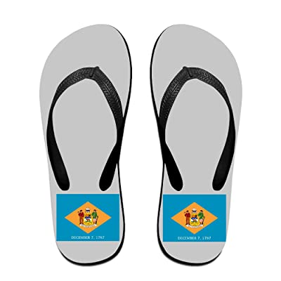 Delaware National State Flag,Funny Cable Sandals,Beach Sandals