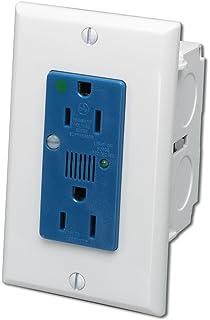 com leviton cb category voice and data module  leviton 47605 acs j box surge protective kit single ac power module