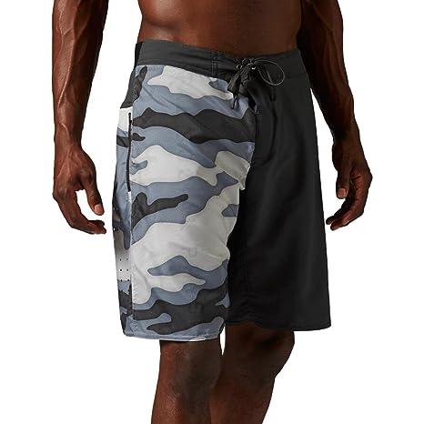 8c029f0fe1 Amazon.com: Reebok Men's One Series Camo Nasty 2-in-1 Shorts: Sports ...
