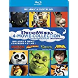 Shrek + Madagascar + Kung Fu Panda + How To Train Your Dragon Collection
