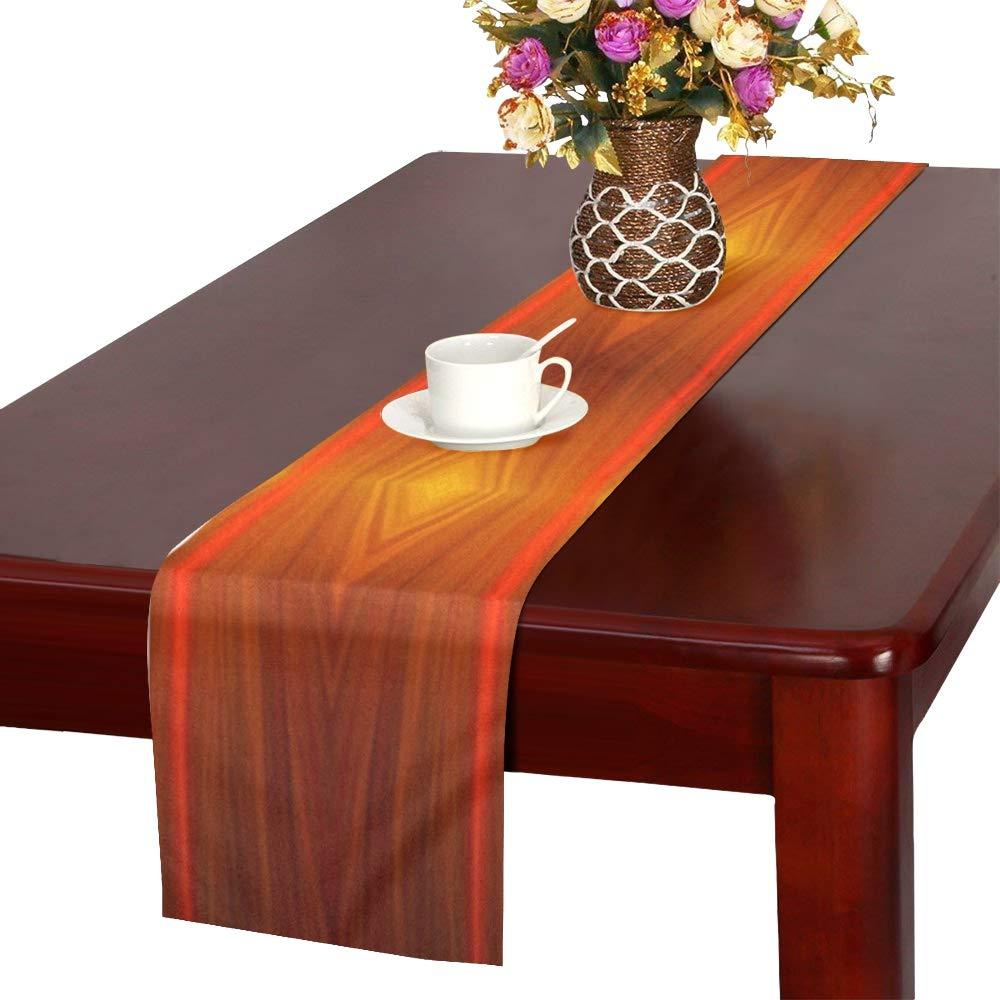 Jnseff スクラップブックペーパー テーブルランナー キッチン ダイニングテーブルランナー 16 x 72インチ ディナーパーティー イベント 装飾   B07G7Z7DCC