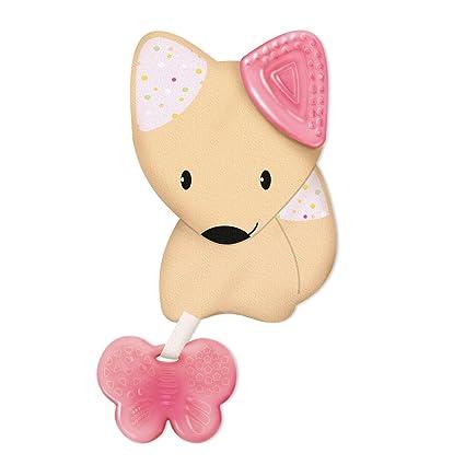 Chicco Fresh Friend - Mordedor y muñeco 3en1, 4 m+, rosa ...