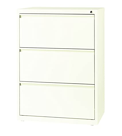 Superieur Office Dimensions Commercial 3 Drawer Lateral File With Full Width Pull,  30 Inch