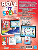 Roll 'n' Spell Board Game:Vocabulary Enhancement, Increase Spelling skills, Enhance Memory. Great for cooperative learning