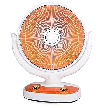 NFNF Hogar Calentador Eléctrico Pequeña Mesa De Sol Calentador Parrilla Estufa Eléctrica,Orange,Orange