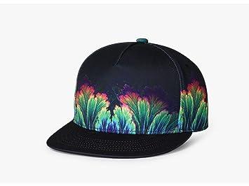 Shangpu123 Hat Hip Hoop Hat Gorra De Béisbol Hombres Y Mujeres con Gorro Personalizado: Amazon.es: Deportes y aire libre