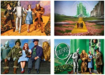 4 Placemats plastic The wizard of Oz