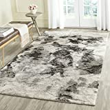 Cheap Safavieh Retro Collection RET2141-1180 Modern Abstract Cream and Grey Area Rug (4′ x 6′)