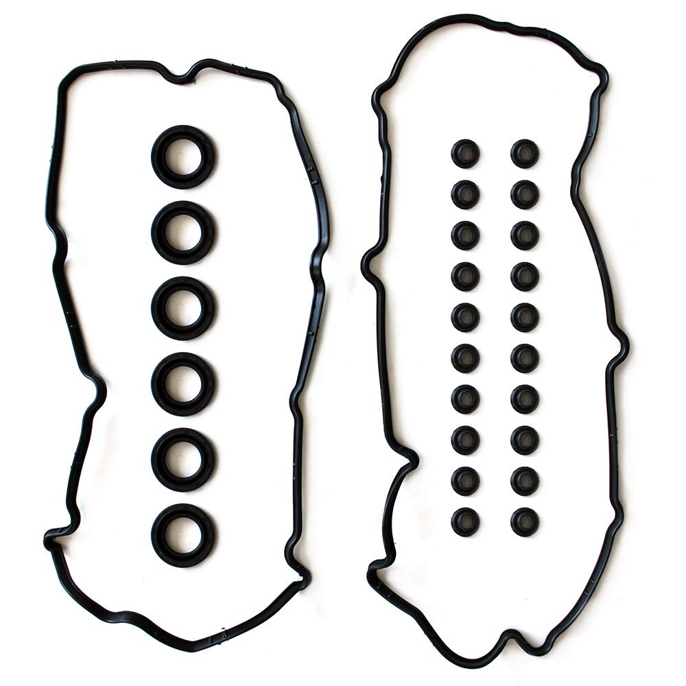 SCITOO Valve Cover Gasket Set Replacement for Infiniti I30 Nissan Maxima 3.0L 1995-1999 Valve Cover Gaskets Kit Sets