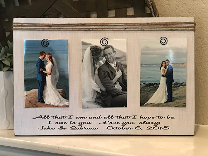 Amazon.com: Wedding Thank You Gift | All That We Are And All ...