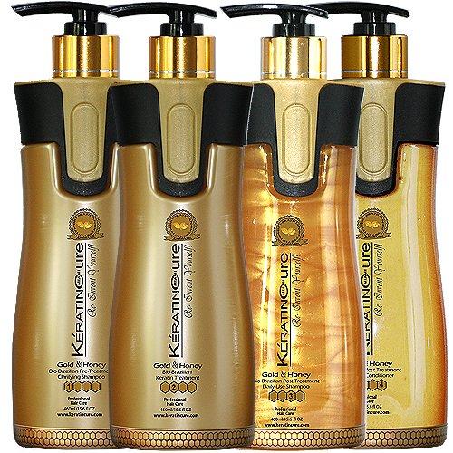 Keratin Cure 0% Formaldehyde Bio-Brazilian Hair Treatment Go