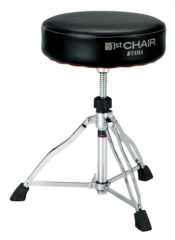 Tama 1st Chair Round Rider Drum Throne Black