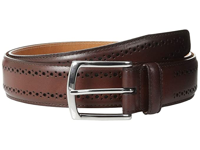 Allen Edmonds Manistee Leather Dress Belt Brown 42