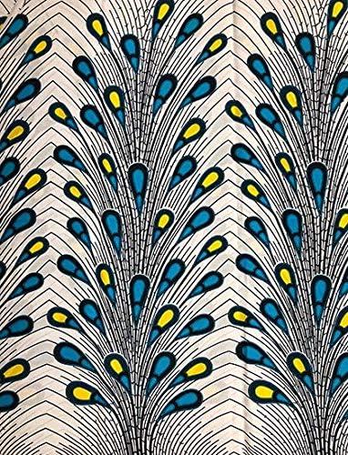 African Print Fabric //Ankara Print//6 yards//Ideal for Women Dresses /& Clothing