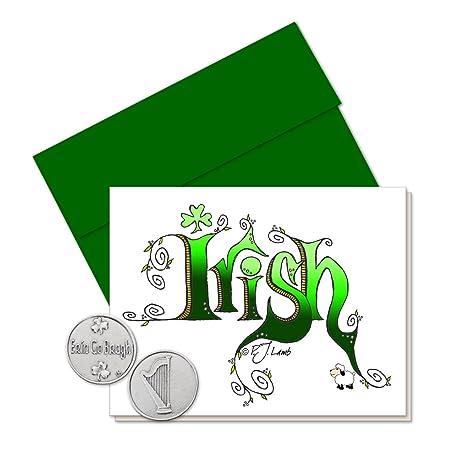 Amazon pj lamb irish greeting card with erin go bragh token pj lamb irish greeting card with erin go bragh token gift package m4hsunfo