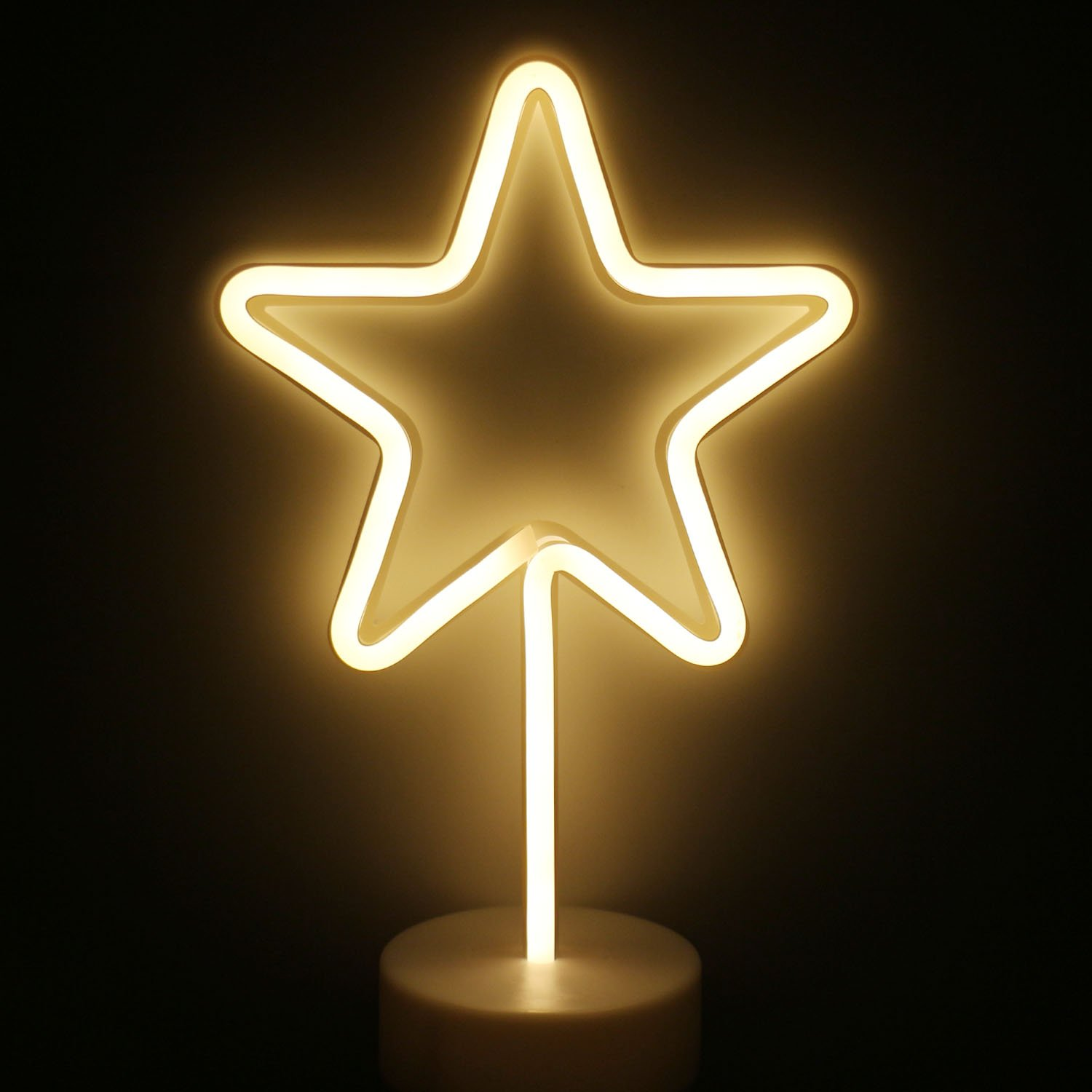 LED Star Neon Light Signs - XIYUNTE Room Decor Neon Lights Sign with ...