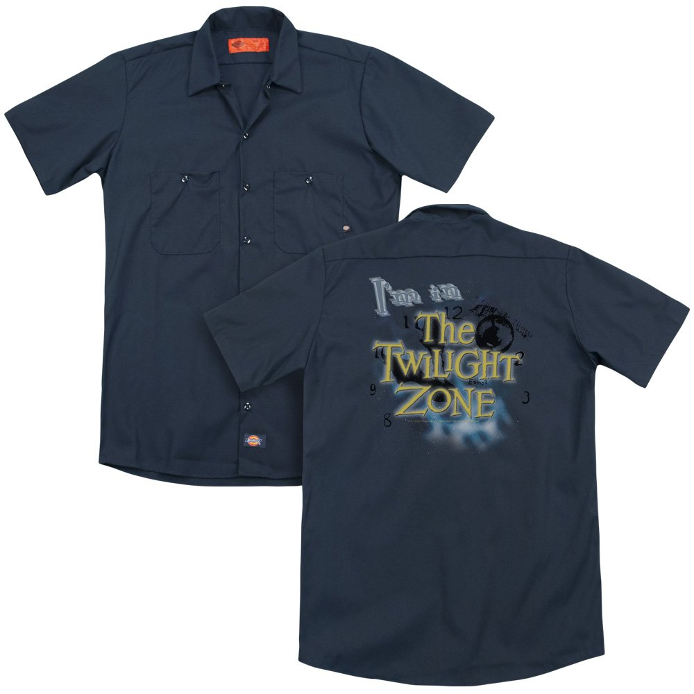 Twilight Zone Im In The Twilight Zone Adult Work Shirt