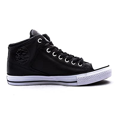 Mens Converse Chuck Taylor All Star High Top Sneaker Black/Black