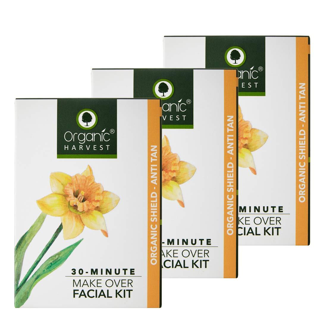Organic Shield-Anti Tan Facial Kit – Pack of 3