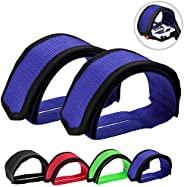 Outgeek 1 Pair Bike Pedal Straps Pedal Toe Clips Straps Tape for Fixed Gear Bike …