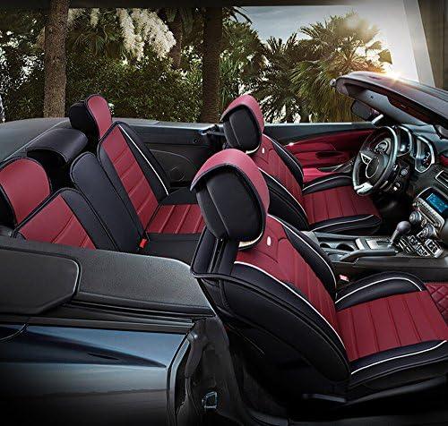 BMW serie 6 protectores de cubiertas de asiento de coche X2 100/% resistente al agua//resistente//Negro