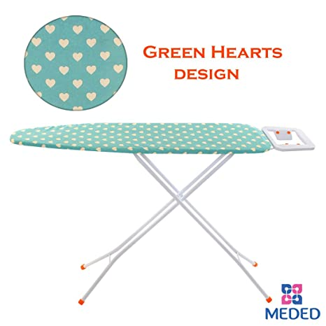 9743dbb9131 Buy Meded Premium International Quality Ironing Board  Iron Table Stand  With Press Holder