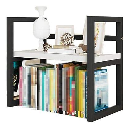 Estantería de escritorio simple, estante moderno simple de ...