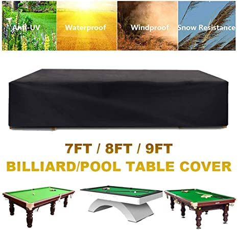Housse de Table de Billard Antipoussi/ère Durable